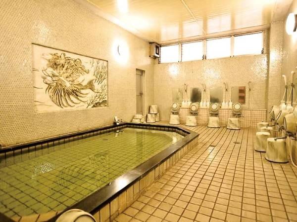 【大浴場】ゆっくりと温まって
