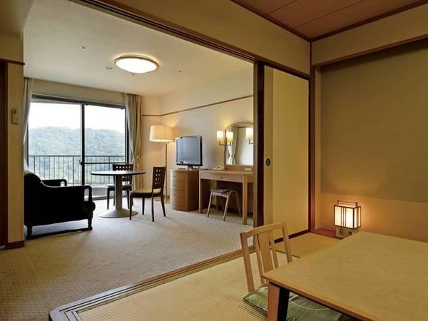 6畳和室+リビング付【喫煙】/一例