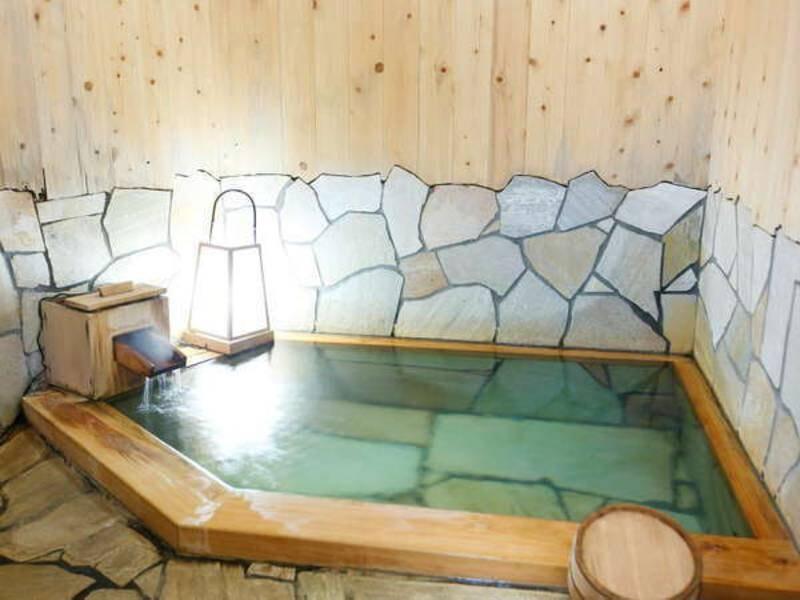 1F「貸切風呂・檜」