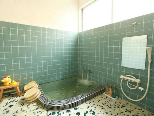 1F「貸切風呂・タイル」