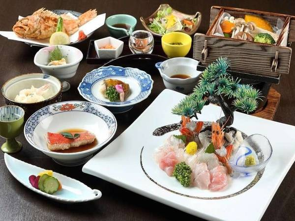 【スタンダード会席/例】伊豆の幸をお部屋食で気兼ねなく味わって