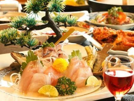 【夕食/例】伊豆の幸をふんだんに使った料理をお部屋食で堪能