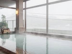 【大浴場】広々としたパノラマ大浴場