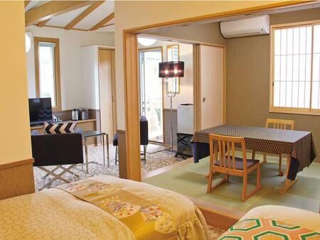 【檜の露天風呂付き特別室・和洋室/例】