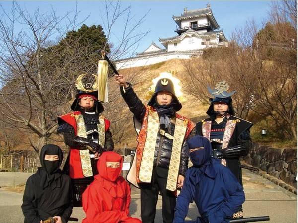 【周辺情報「掛川城」】宿から車で約40分