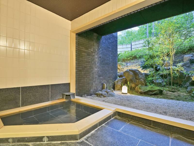 【別館貸切風呂】別館の貸切風呂は2種類