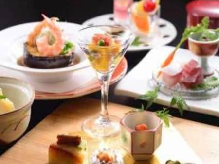 【夕食/例】至福の旬感 美食の世界