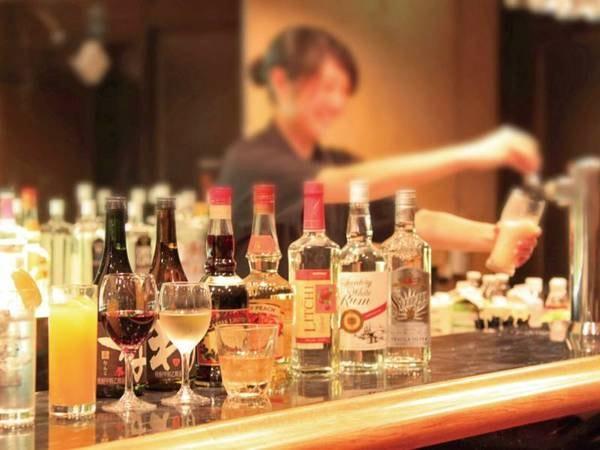 【飲み放題】夕食時&バータイム時はアルコール含むドリンク飲み放題!