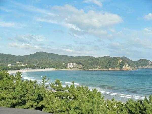【弓ヶ浜】日本の渚百選の南伊豆弓ヶ浜。海岸までは歩いてすぐ!