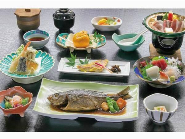 【郷土を楽しむ田舎料理/春~冬の料理一例】地魚をはじめ松崎の味覚を楽しむワンランクUPの田舎料理!
