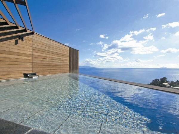 【熱川プリンスホテル】個性豊かな12の湯舟と天空露天風呂が自慢♪高台から海一望の絶景ロケーション!
