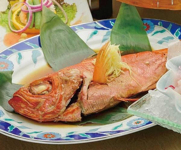 金目鯛姿煮は1組1尾(大きさで調整)/例