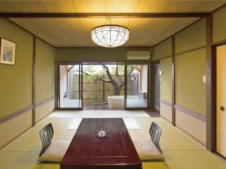 【客室/例】陶器の露天風呂付客室