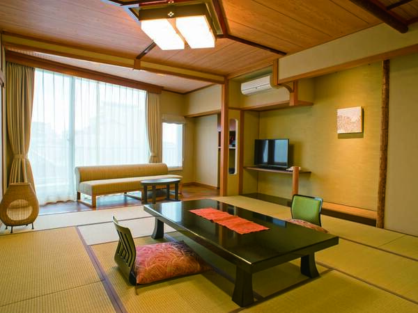 【客室/例】広々!スタンダード15畳和室。低層階のため海が見えません