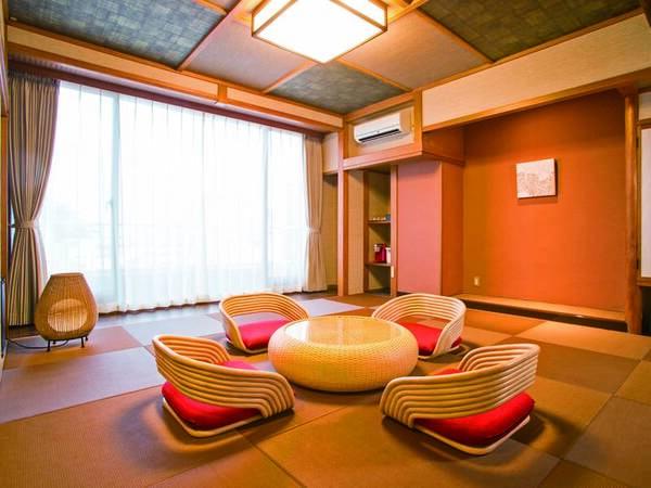 【客室/例】アジアンデザインルーム「10畳和室」。洗練された和モダン空間