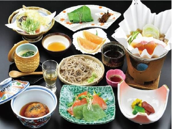 【スタンダードプラン/例】手作りにこだわった和食膳