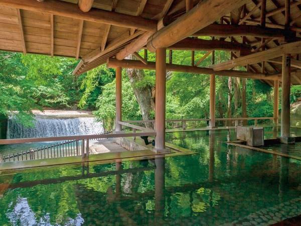 【四万たむら】室町時代創業の老舗宿で自然の音に包まれる贅沢な湯浴みのひととき。本格会席料理と温泉三昧、心癒される滞在