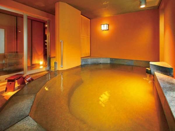 【有料貸切風呂(内湯)】自慢の温泉を貸切で楽しめる