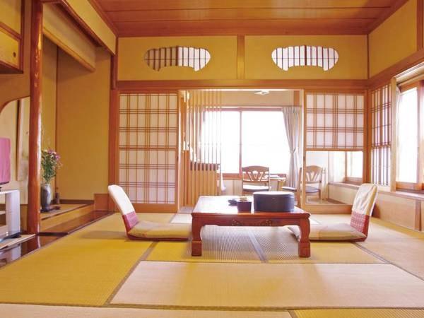【 一間角部屋和室/例】眺めの良い角部屋の和室をご用意