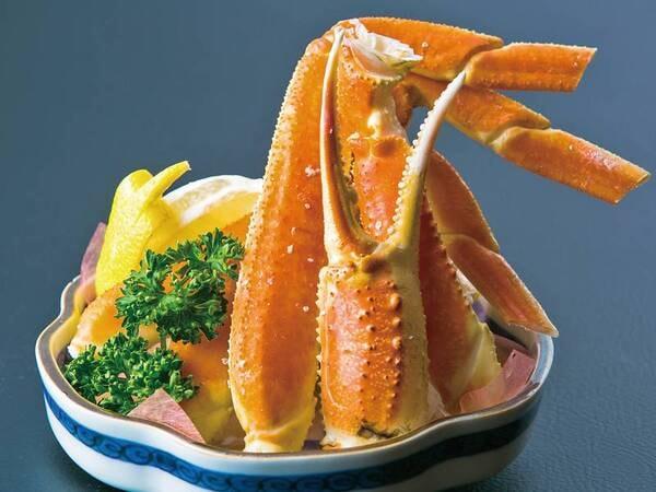 【蟹/2名盛例】蟹がついたグレードアップの会席