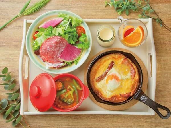 【朝食/例】高原の朝にふさわしい洋食メニュー