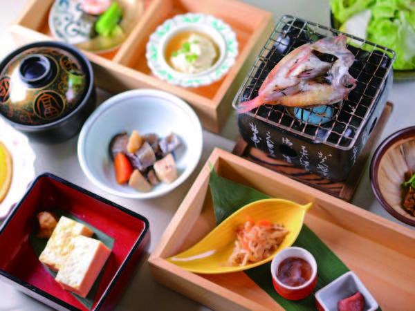 【朝食/例】和食か洋食か選択可能!和食の例