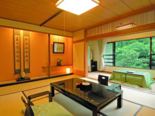 【和室/例】四季折々の景色を眺めながらくつろげる静かな空間