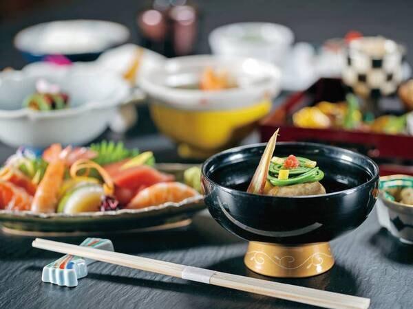 【基本プラン/例】四季の変化に富んだ会席料理