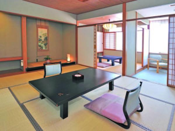 【和室/例】10畳+4.5畳+広縁付のお部屋