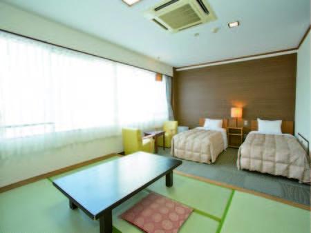 【和洋室/例】10畳和室+ツインベット洋間のスタンダードなお部屋