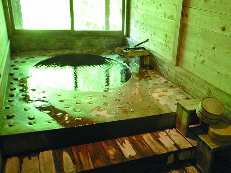 【貸切風呂】館内に3箇所の貸切風呂を完備