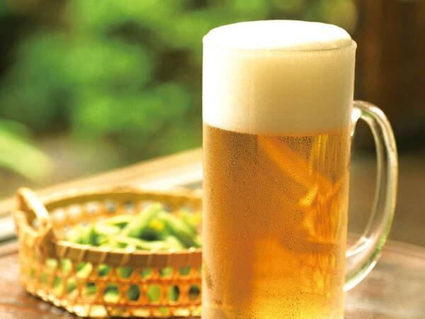 【ドリンク/例】夕食時、生ビールも含む70分飲み放題付き