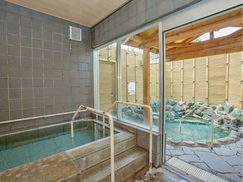 【貸切風呂】2箇所あり、1組40分の貸切利用が無料!※予約制