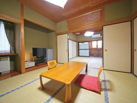 【客室/例】8畳2間の広々和室♪