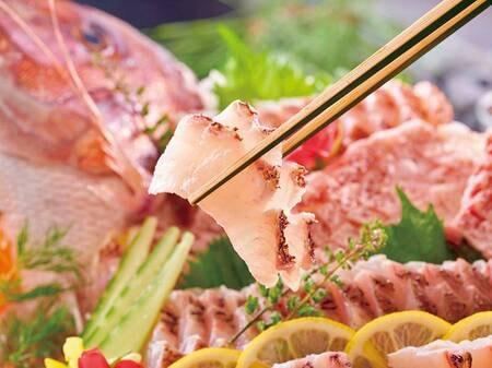 バイキング 3月~5月春の料理フェア「鯛の刺身」/例