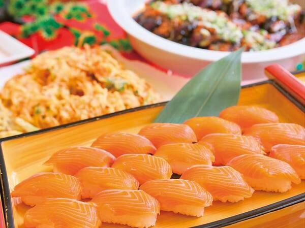 人気!サーモンのお寿司