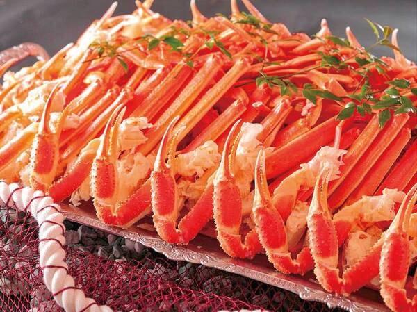 2021年9月1日~2022年2月28日まで! ★かに食べ放題★ ※かに食べ放題は紅ずわい蟹またはトゲずわい蟹の脚と爪のみの提供です