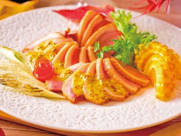 2021年秋フェアメニュー(9/1〜11/30)鴨と焼きねぎのレモンソース