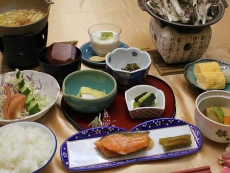 【朝食/例】和定食をご用意