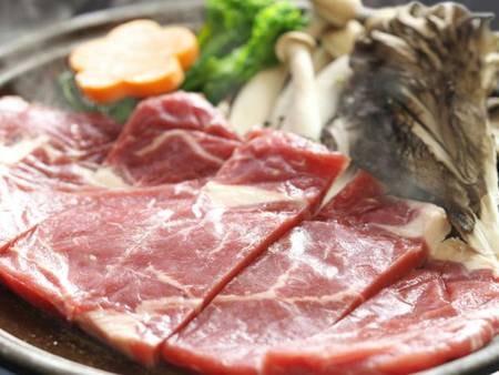 【上州牛の陶板焼き/例】ブランド牛の上州牛を堪能!