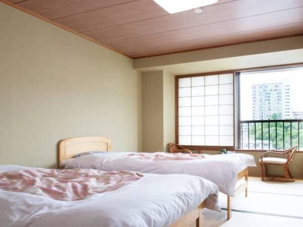 【禁煙】本館ベッド(10畳バストイレ付)/例
