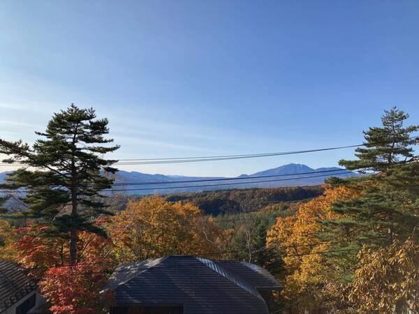 【眺望】四季折々の景色を楽しめるの山々は絶景