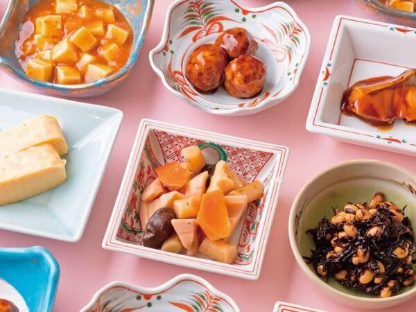 【朝食/例】 3密対策にも十分に配慮しながら、ビュッフェ形式でご提供