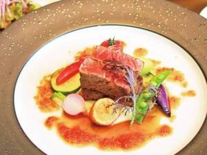 【牛ステーキ/例】メイン料理ををグレードUPして豪華な洋食コースに!
