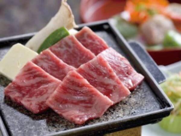 【伊賀牛石焼き/例】地元ブランド牛の伊賀牛を、ジュワッと香ばしく石焼きで!