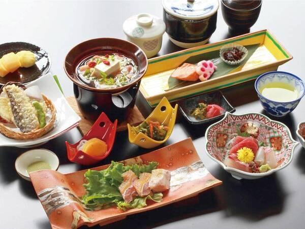 【奥熊野会席/例】季節毎に異なるメイン料理をはじめとする奥熊野を味わう会席