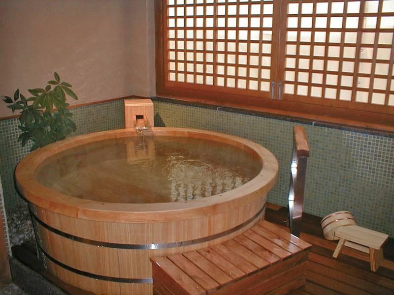 【貸切風呂/菅島】檜の貸切風呂