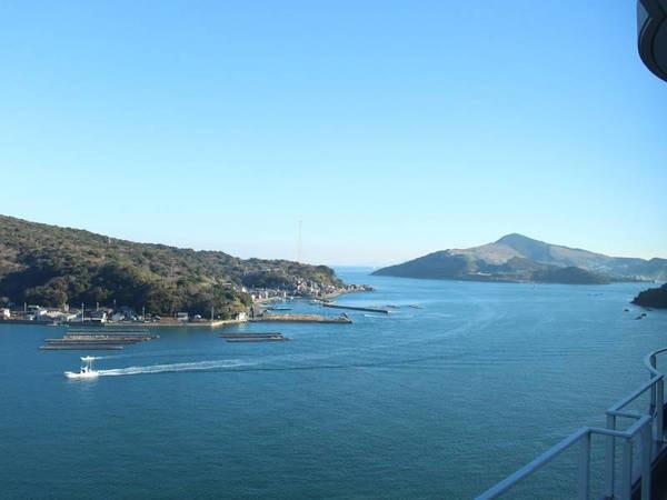 【眺望一例】岬亭からは海が望める(写真イメージ)