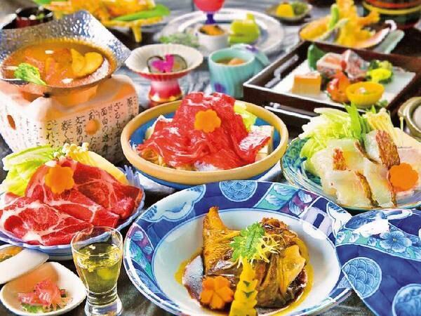 【花榊会席/例】個人ごとにメイン料理が選択可能!