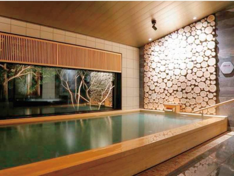 潮騒の湯(女湯)~療養泉としての基準を満たす、天然温泉~